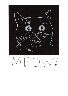 Friendship Cat Card