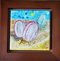 Art Tile Cactus Twins