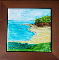 Framed Art Tile