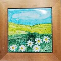 Framed Ceramic Tile