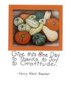 Handmade Thanksgiving Card
