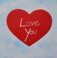 Handmade Love Magnet