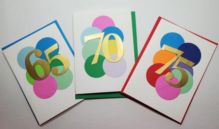 Handmade Milestone Birthday