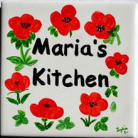 Kitchen Name Tile