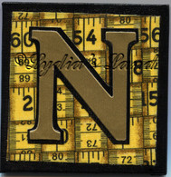 Monogram Letter N