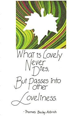 Handmade Sympathy card