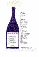 Anniversary Wine  #C443