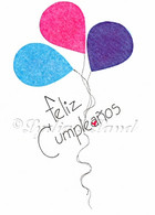 Spanish Birthday #C554