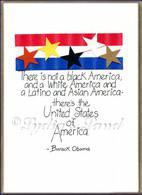 President Obama PlaqueCard #P2009