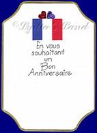 French Birthday #P552