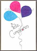 Spanish Birthday #P554