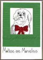 Maltese PlaqueCard