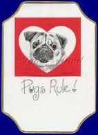 Pug PlaqueCard