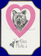 Yorkshire Terrier PlaqueCard