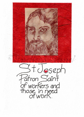 St Joseph's Day Card