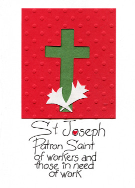 St. Joeseph's Day Card