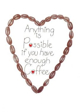 Coffee-themed Birthday