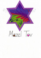 Handcrafted Bat Mitzvah card