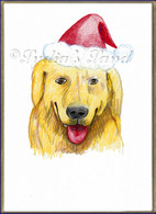 XMas Golden Retriever