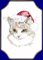 Christmas RagDoll Cat