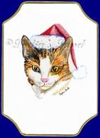 Christmas Calico Cat