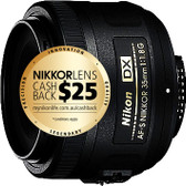 Nikon AF-S DX 35mm F1.8G Camera Lens