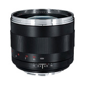 Carl Zeiss Planar T 85mm f/1.4 ZE Lens - Canon Mount
