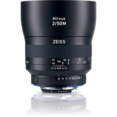Zeiss Milvus 50mm f/2.0 Macro ZF.2 Lens for Nikon