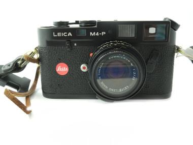 Leica Leitz M4-P M4P 35mm Rangefinder Film Camera body with Leica Summicron- M 1:2/35mm Lens