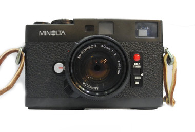 Minolta CLE Range Finder Range Finder M-Rokkor 40mm F2.8 Lens 35mm Film Camera