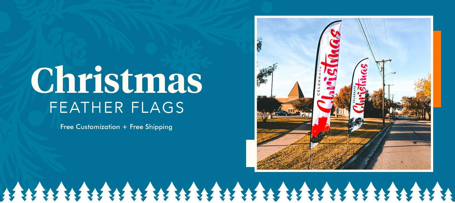 Christmas Flag Banners