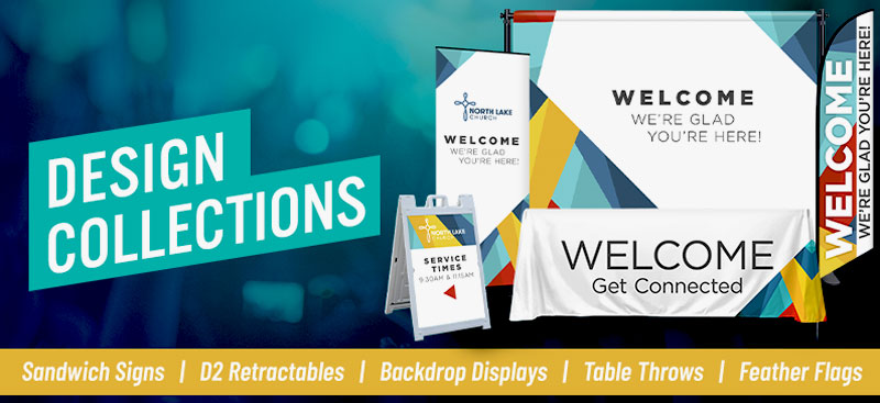 church banner stands & displays