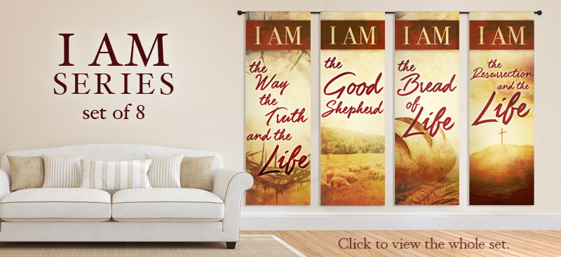indoor church banners