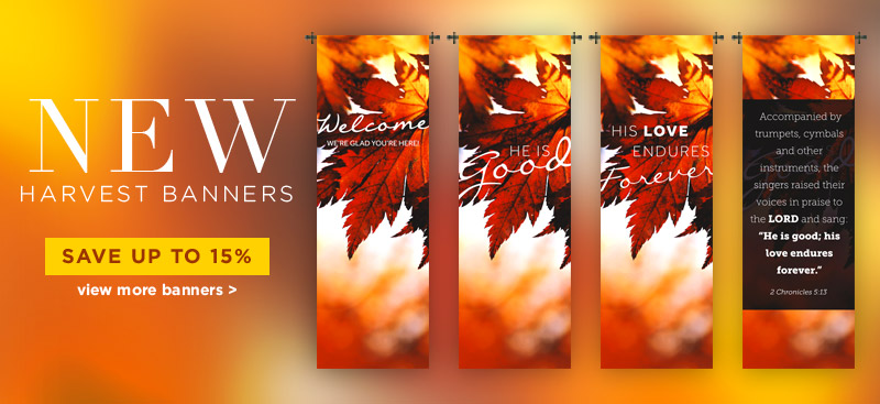 Fall Harvest Banners