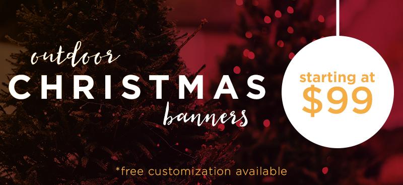 welcome christmas banner