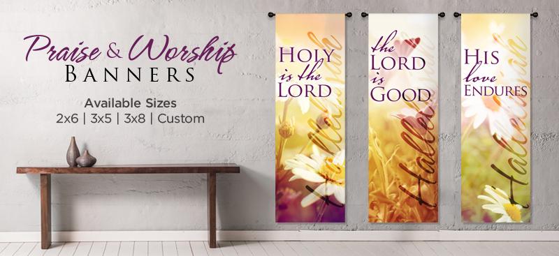 worship banners