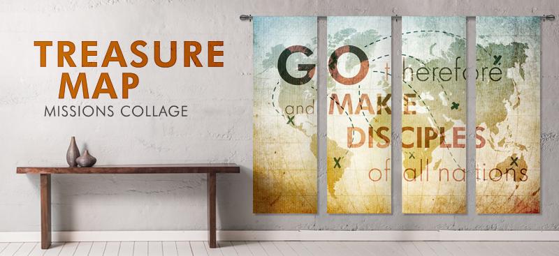 indoor church banners