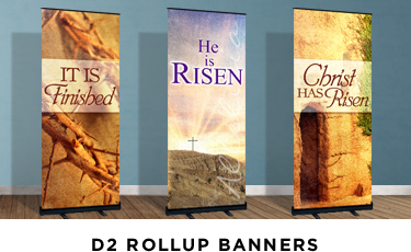 Easter Banner Stands
