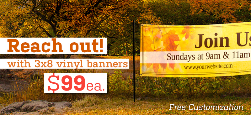 outdoor vinyl banners for fall harvest