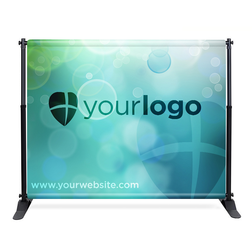 fabric backdrop banner