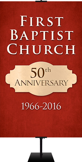 church anniversary banners
