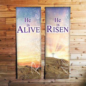 indoor custom church banner