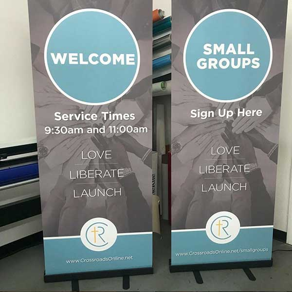 church popup displays