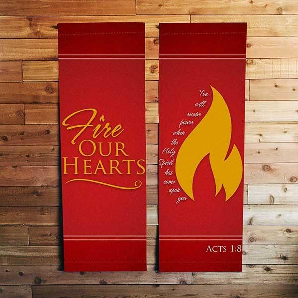 custom pentecost banners