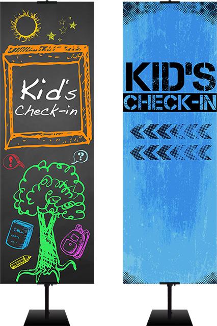 kids ministry banner designs