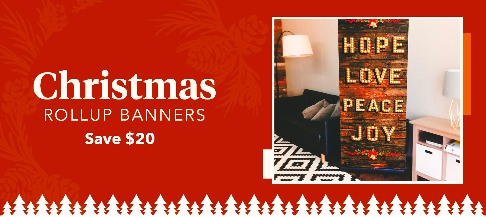 christmas Rollup Banner