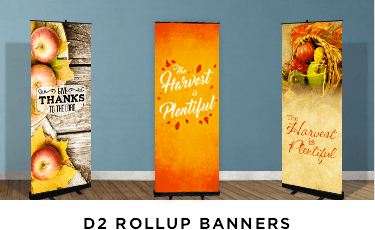 fall harvest retractable banners
