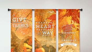 thanksgiving banners for church