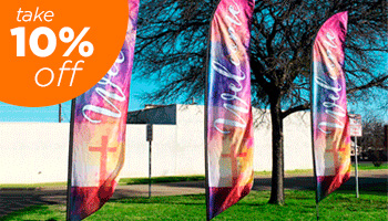 church feather flags on sale