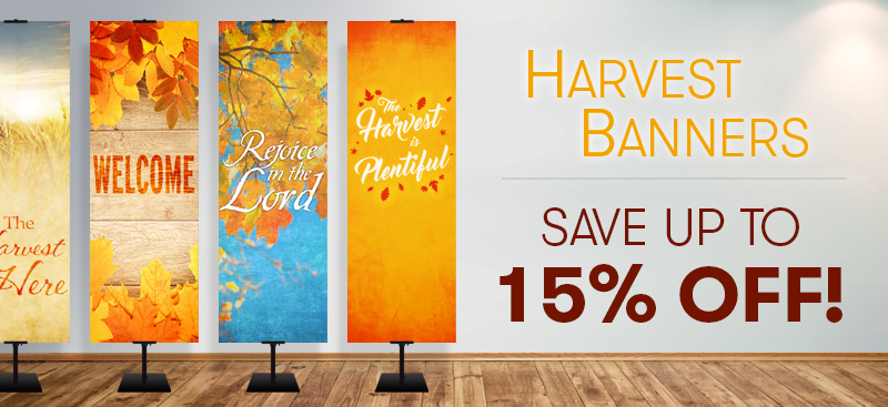 Thanksgiving banners for churches